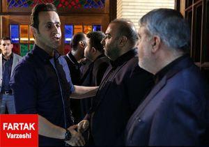 تسلیت علی کریمی به وزیر ارشاد