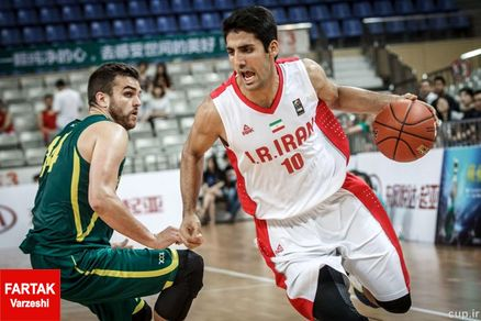 بسکتبالیست های ایران در مقابل مصر به پیروزی رسیدند