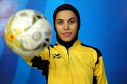 ثبت رکوردی عجیب توسط خانم گل فوتسال ایران