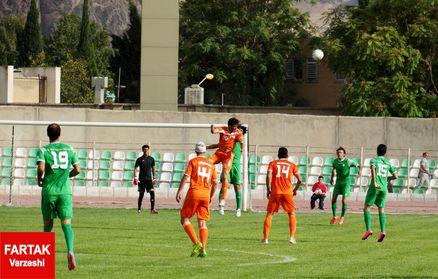 خیبر خرم آباد و سپیدرود رشت باثبات ترین تیم های لیگ یکی