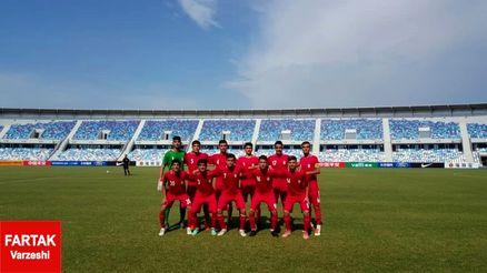 تیم ملی نوجوانان مقابل کره شمالی شکست خورد