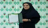 سارا نصیری در قامت مدیرورزش بانوان ذوب آهن اصفهان