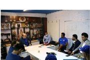 جلسه سعادتمند و معاونانش با مجیدی + عکس