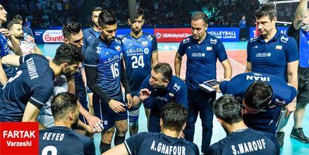 لیست کولاکوویچ برای حضور تیم ملی والیبال ایران در انتخابی المپیک2020