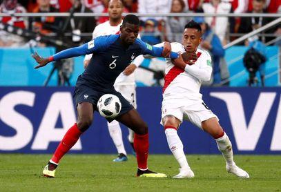 تصاویر/ دیدار تیم ملی فرانسه و پرو