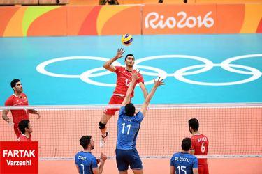 گزارش تصویری : والیبال المپیک ۲۰۱۶ / ایران ۰ - ۳ آرژانتین