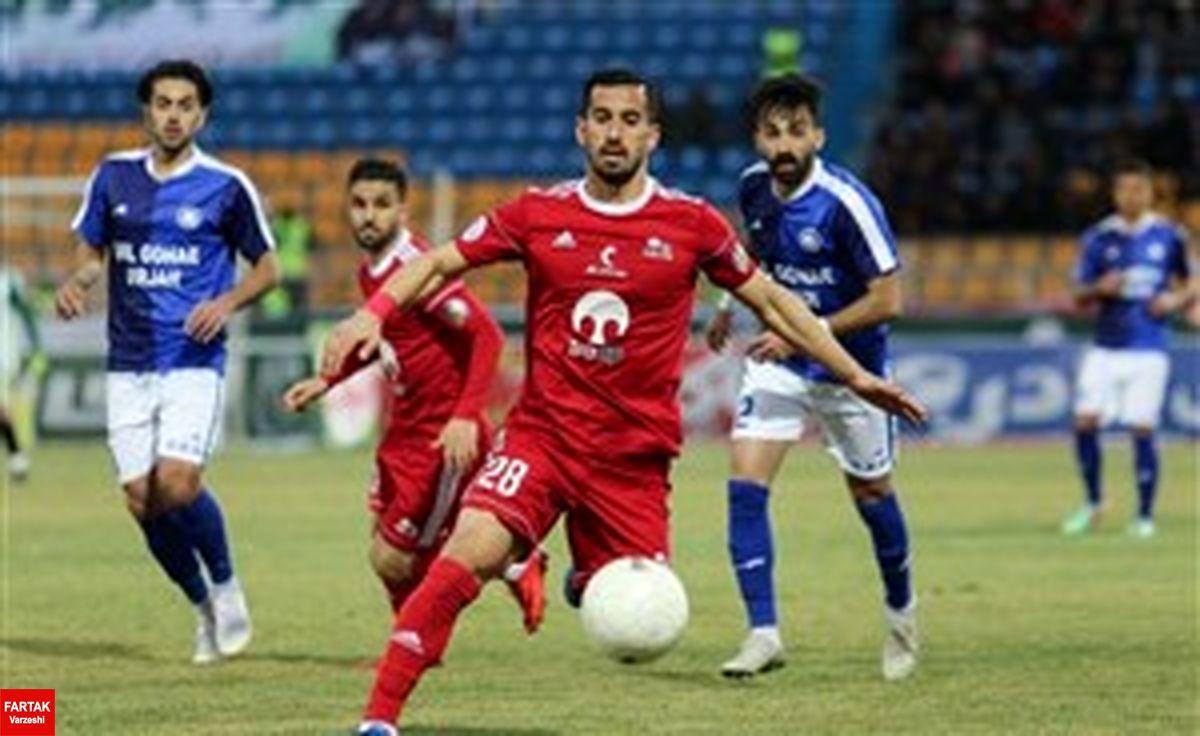حاج صفی مانع شکست تیمش مقابل گل گهر شد