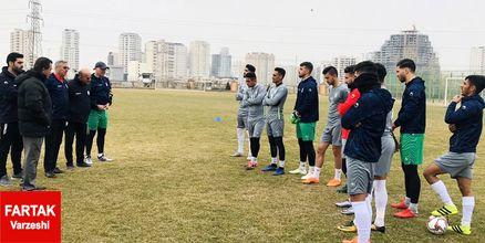 تیم ملی امید با 11 بازیکن استارت زد