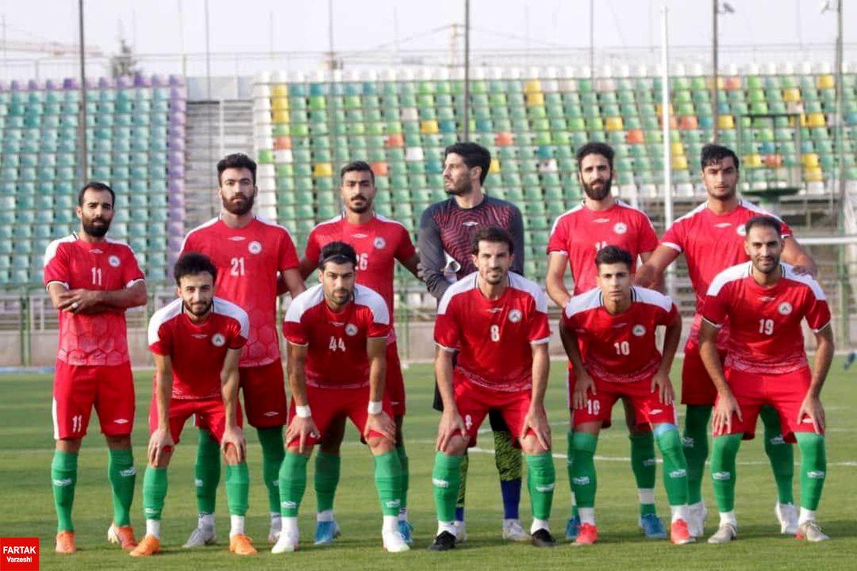 ورزشگاه فولادشهر شاهد اولین پیروزی ذوب آهن در دیدار تدارکاتی