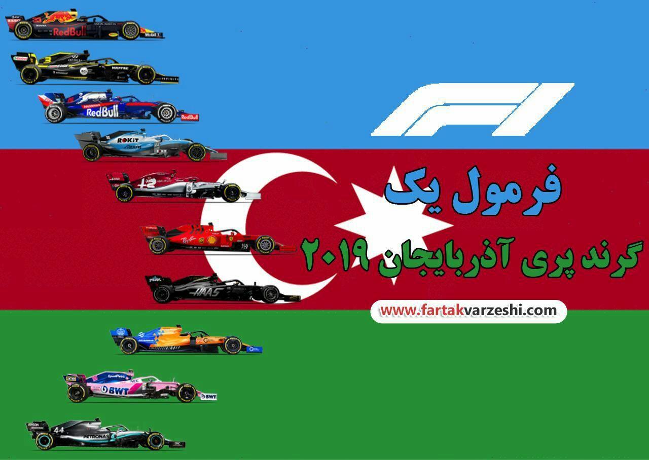 رقابت داغ در باکو کدام تیم پیروز خواهد شد؟ / همیلتون در فکر فتح آذربایجان! + نقشه و فیلم مجازی پیست