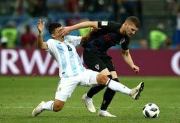 تصاویر/ دیدار تیم ملی آرژانتین و کرواسی