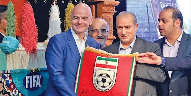 اینفانتینو:فیفا کاملاً از بانوان فوتبالی پشتیبانی می کند و در کنار آنها خواهد ایستاد!