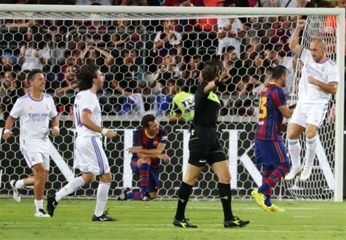«الکلاسیکوی اسطورهها»؛پیروزی رئال مادرید مقابل بارسلونا+عکس
