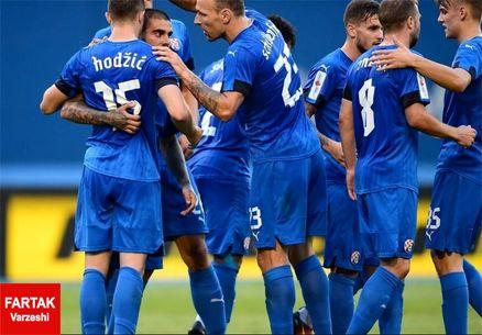 پیروزی دینامو زاگرب با کرانچار در لیگ کرواسی پس از ۱۸ سال + تصاویر