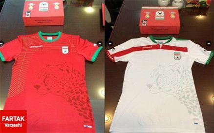 رونمایی از طرح پیراهن تیم ملی در مراسم برترینها