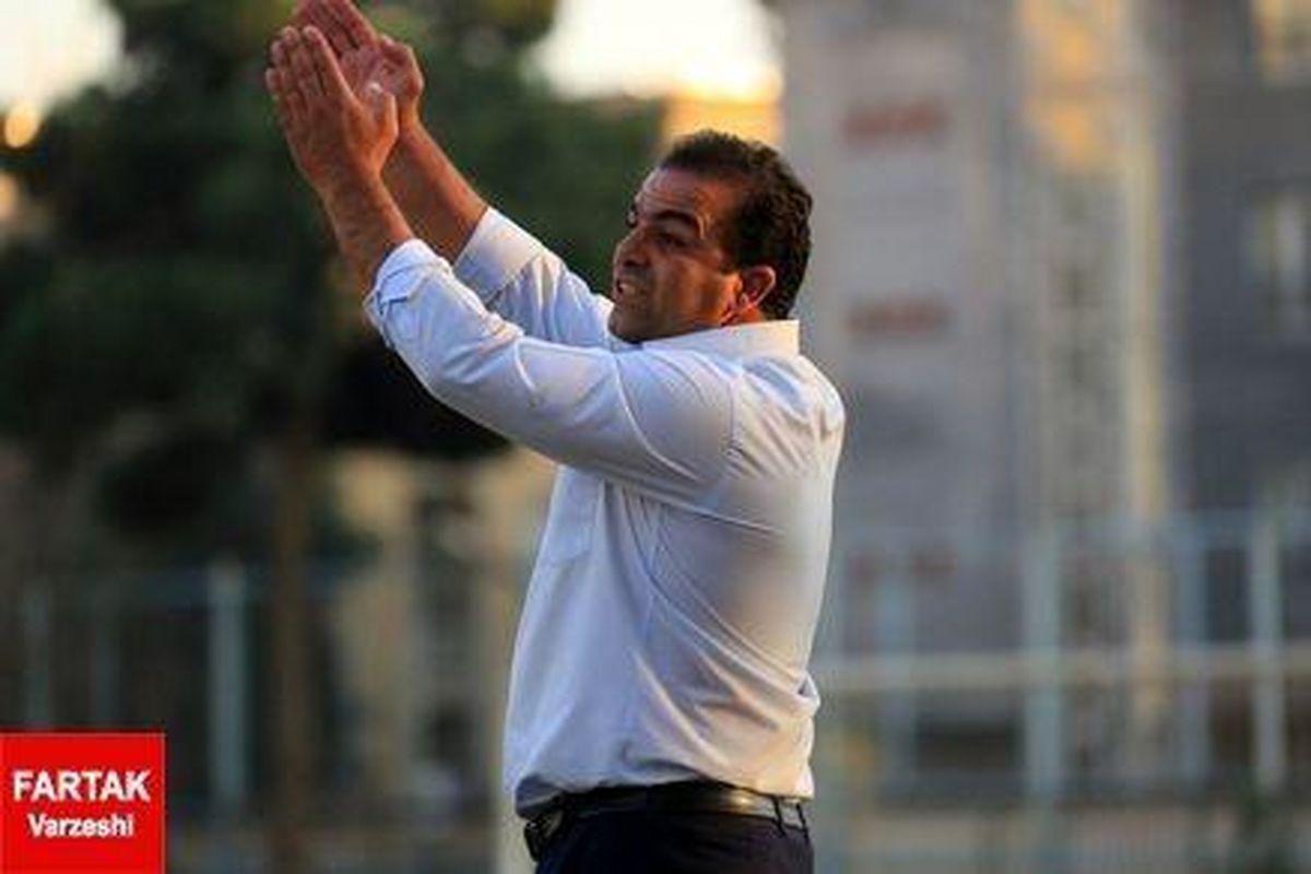 مهابادی:تیم حریف خیلی خوب دفاع کرد