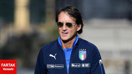 مانچینی: شرایط ما در تیم ملی ایتالیا روز به روز در حال پیشرفت است