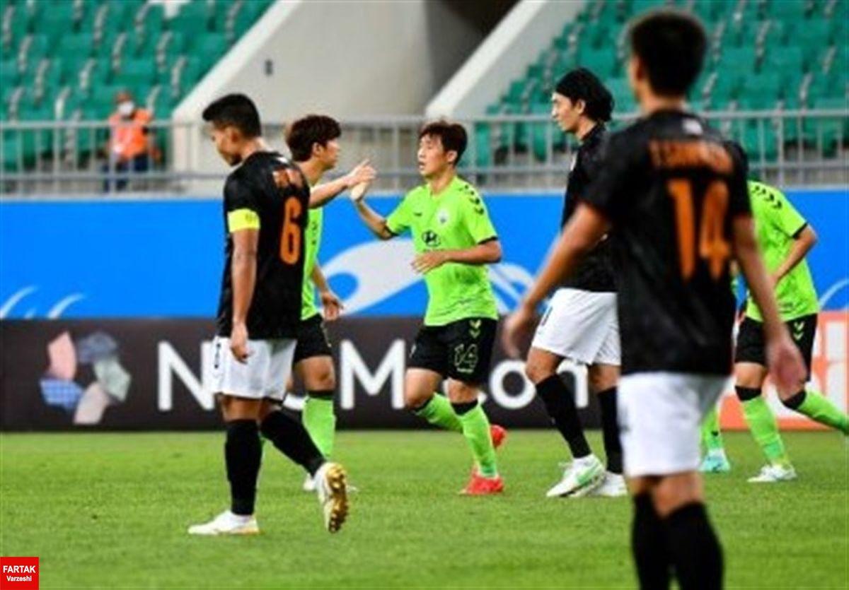 لیگ قهرمانان آسیا| پیروزی پرگل تیمهای کرهای و ژاپنی