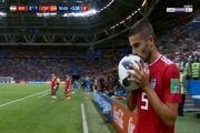 میلاد محمدی در بین 10 لحظه خنده دار فوتبال جهاندر سال ۲۰۱۸+ عکس