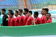 اعلام ترکیب تیم های فوتبال امید ایران و سوریه