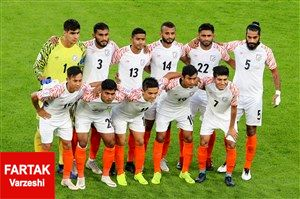 هند یک پله پایین تر از تیم ملی ایران قرار گرفت!