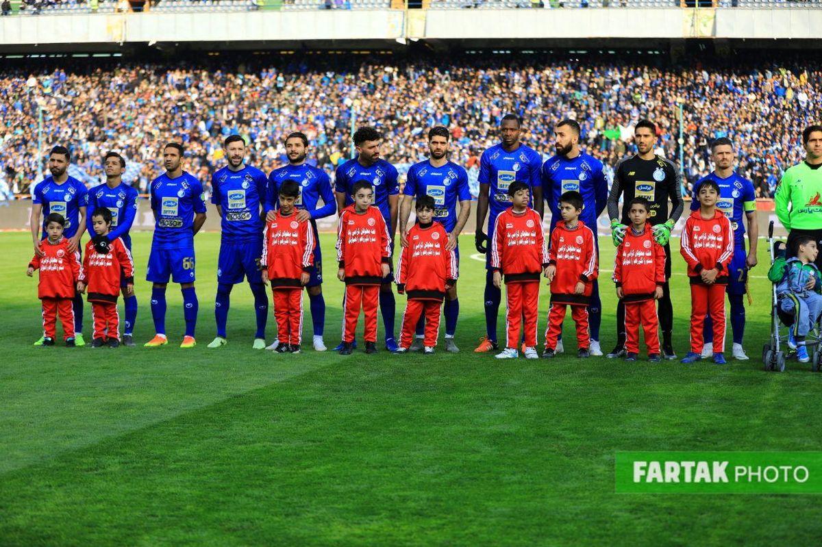 پیروزی استقلال مقابل شاهین بوشهر در نیمه اول