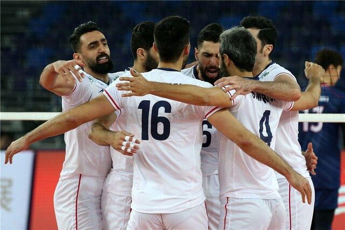 زمان بازیهای تیم ملی والیبال در المپیک ۲۰۲۰ اعلام شد