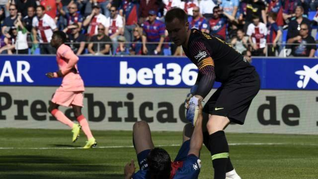 دیدار بارسلونا و هوئسکا