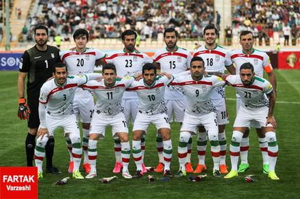 ایران بدون تغییر همچنان بهترین تیم آسیا و ۳۹ جهان