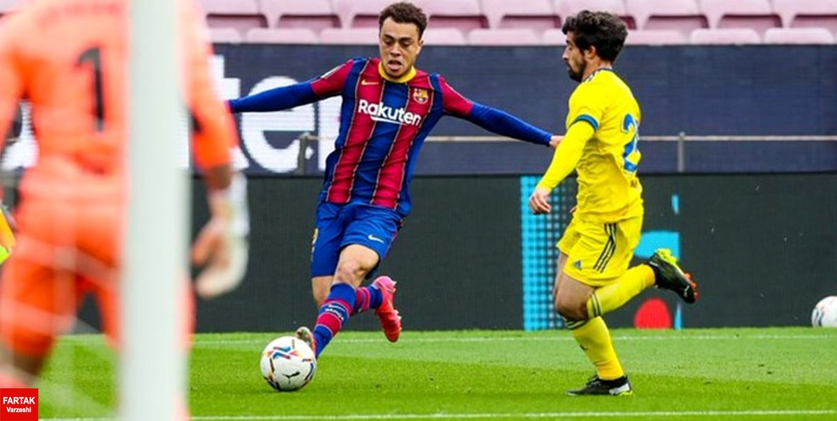 هفته بیست و چهارم لالیگا  بارسلونا در دقایق پایانی پیروزی را از دست داد