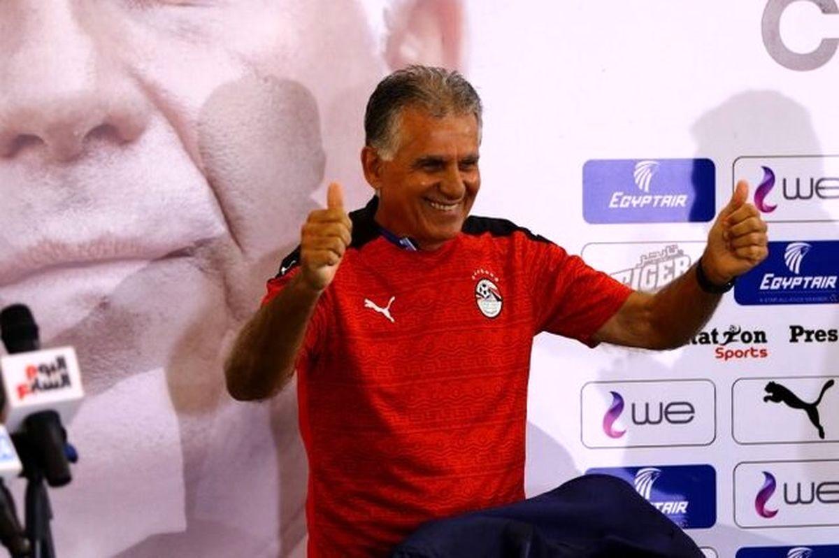 کیروش: تمام تجربه خود را برای رسیدن به جام جهانی در اختیار مصر قرار میدهم