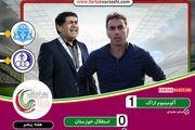 آلومینیوم اراک 1 - 0 استقلال خوزستان؛ فکری به صدر نزدیک شد/ آبی پوشان هم چنان در برزخ