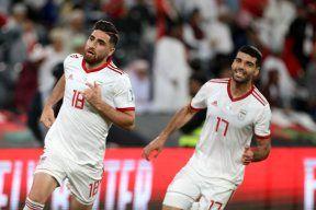 گل جهانبخش، کپی برابر اصلی بازی با عمان