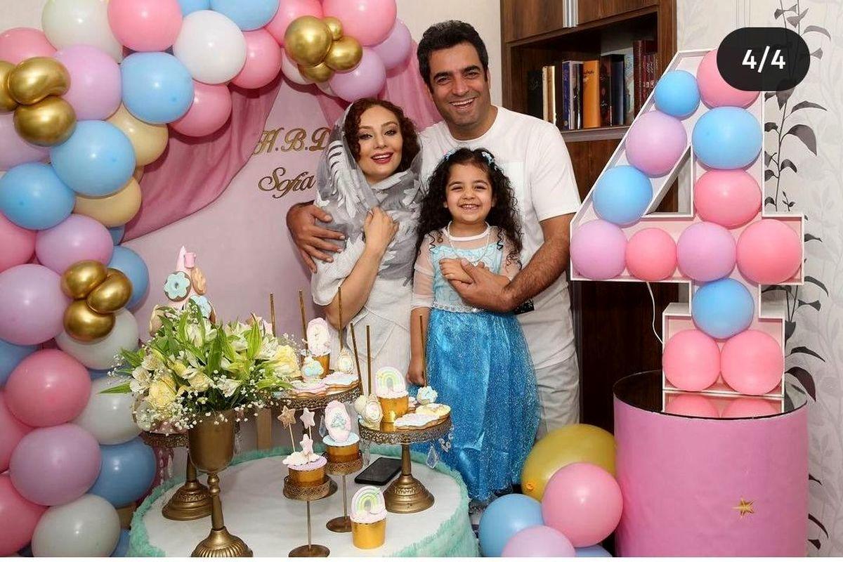 جشن تولد لاکچری دختر منوچهر هادی در دوران کرونا + تصاویر