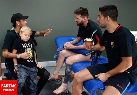 دلتنگی نیمار برای بازی در کنار دو ستاره خط حمله بارسلونا