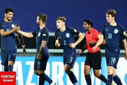انگلیس با پیروزی مقابل مکزیک حریف ایتالیا شد