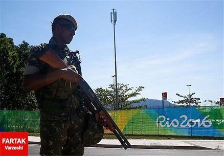 تدابیر امنیتی شدید با افتتاح رسمی دهکده بازی های المپیک+ عکس