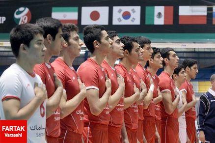 تیم ملی والیبال جوانان ایران مغلوب کوبا شد
