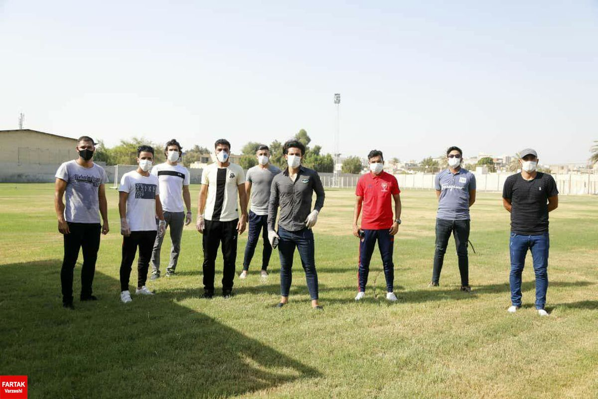 سیزده نفر از اعضای تیم فوتبال شهرداری بندرعباس مبتلا به کرونا شدند