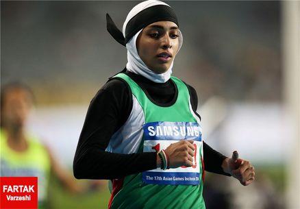 مریم طوسی نتوانست سهمیه المپیک را بگیرد