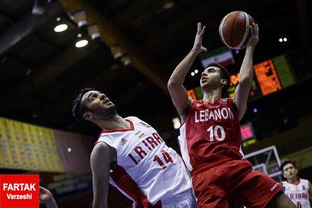 ژاپن مغلوب تیم ملی بسکتبال ایران شد