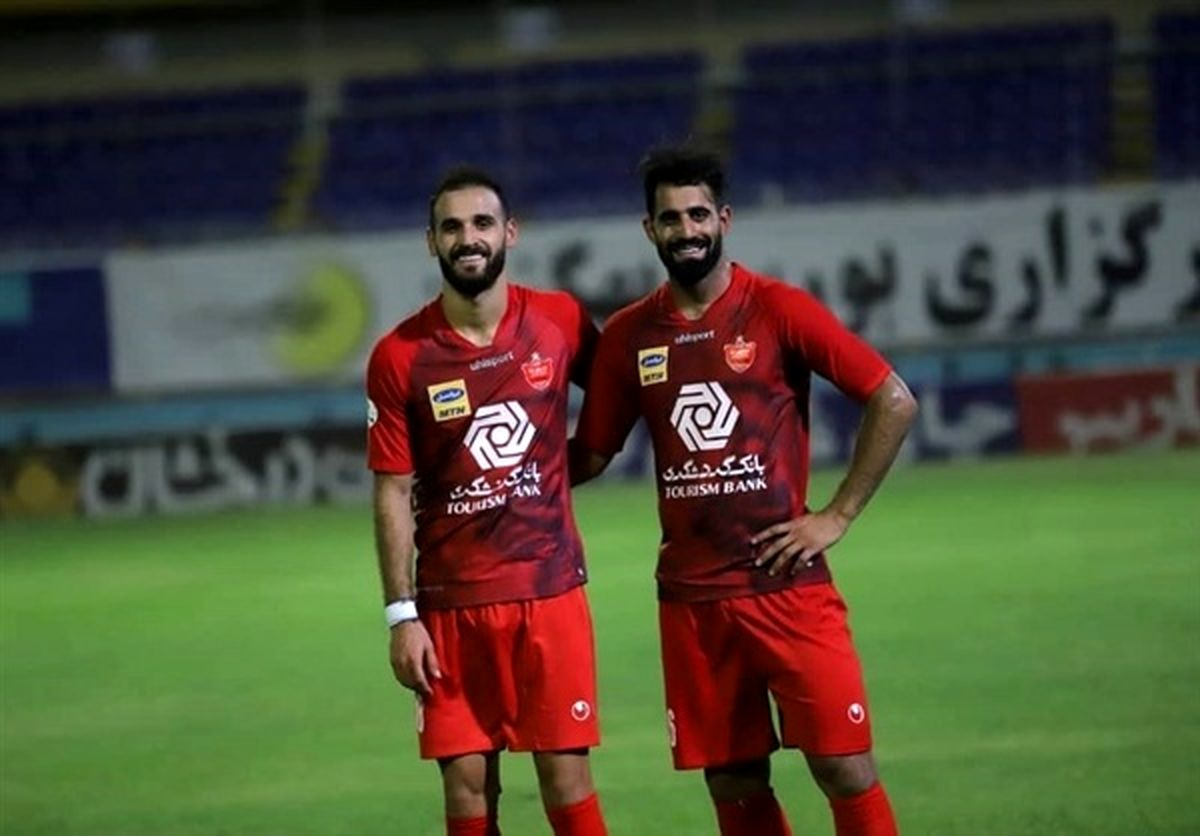 تساوی تیم فوتبال شباب الاهلی مقابل الوحده