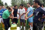 تصاویر/ تمرینات شهرداری فومن با جشن تولد کاپیتان اشجاری