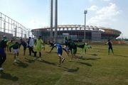 گزارش تصویری : تمرینات تیم چوکا تالش در اهواز