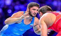 المپیک توکیو  محمدیان به تانک روس خورد