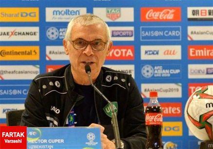 سرمربی ازبکستان: ما مهیای تمام رقابتهای جام ملتهای آسیا شدیم