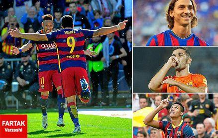 آمار عجیب بارسلونا ، ولخرج ترین تیم اروپا در گلزنی