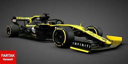 تیم رنو از خودرو جدیدش در مسابقات فرمول یک فصل ۲۰۱۹ رونمایی کرد