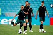 بازگشت موتینیو به تمرینات پرتغال