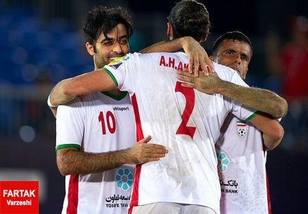 اسپانیا مقهور تیم ملی فوتبال ساحلی ایران